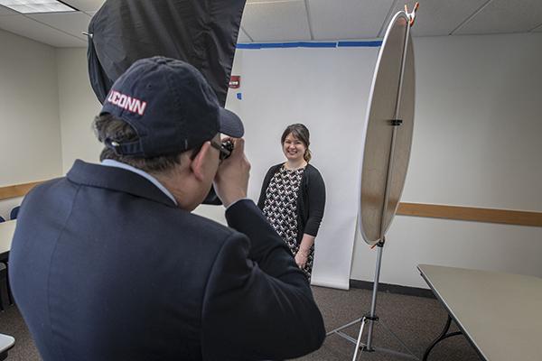 headshot photo session